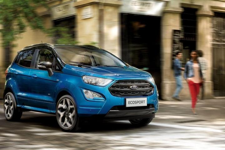 Buitenkant nieuwe Ford EcoSport