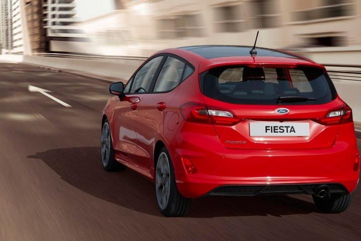Exterieur nieuwe Ford Fiesta