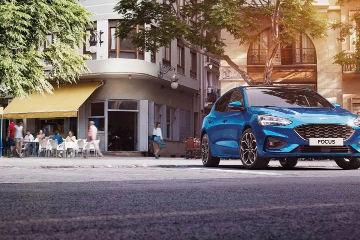 Exterieur nieuwe Ford Focus