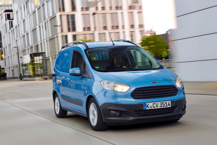 Ford Transit courier Ford specialist