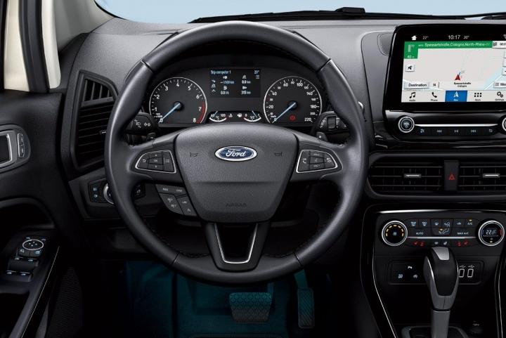 Binnekant nieuwe Ford EcoSport