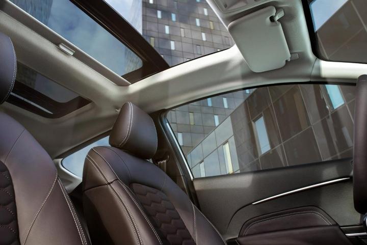 Interieur nieuwe Ford Fiesta