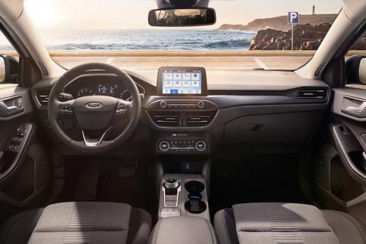 Binnenkant nieuwe Ford Focus