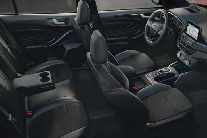 Interieur nieuwe Ford Focus